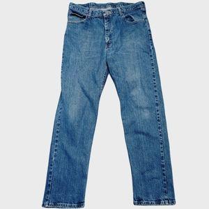 Wrangler Straight Leg Denim Jeans-Size 34